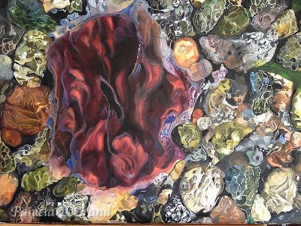 Jelly Fish By Malibu Artist Pamela LeGrand