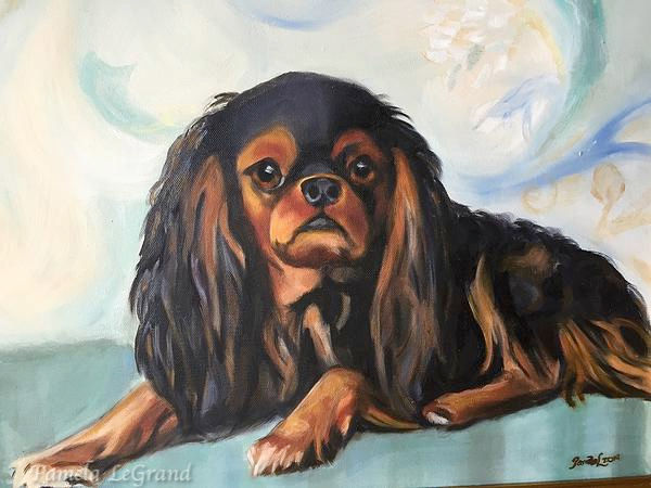 Charlie By Malibu Artist Pamela LeGrand