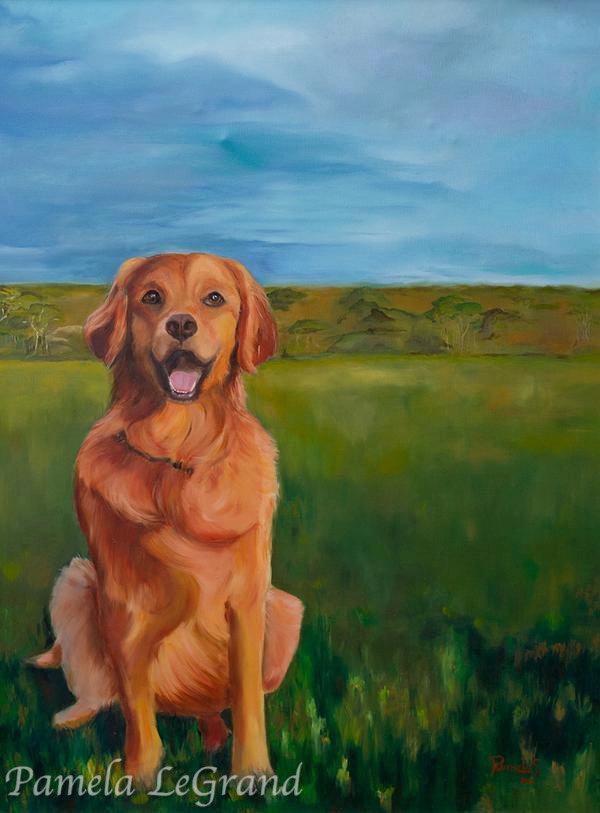 Daisy By Malibu Artist Pamela LeGrand