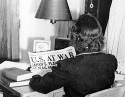 WW II headline