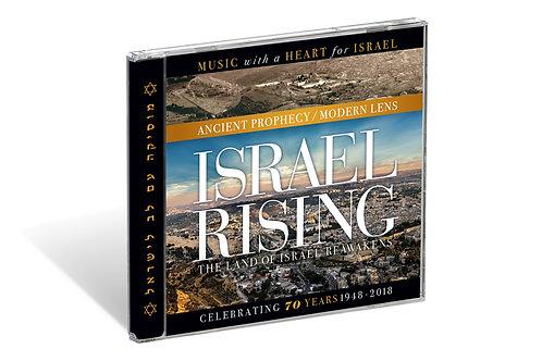 Israel Rising 70th Anniversary Music CD