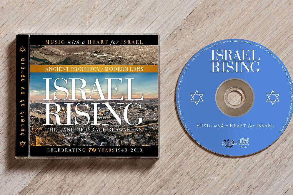 Israel Rising Calendar and CD pack!
