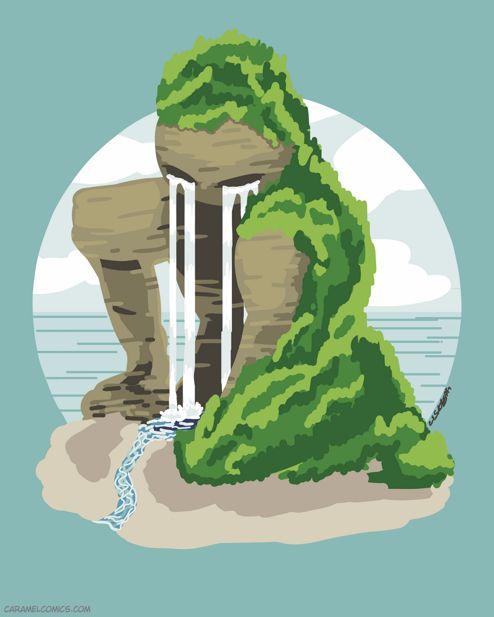 Nonbinary Elementals: Island