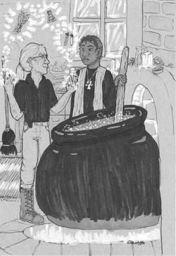 Potions withe Mesi (and Thomli)