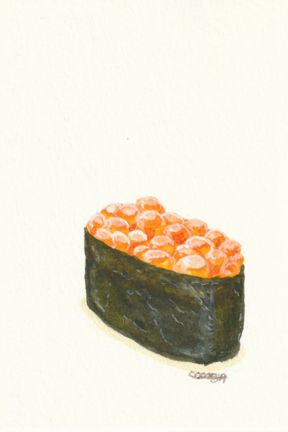 Sushi Series: Salmon Roe