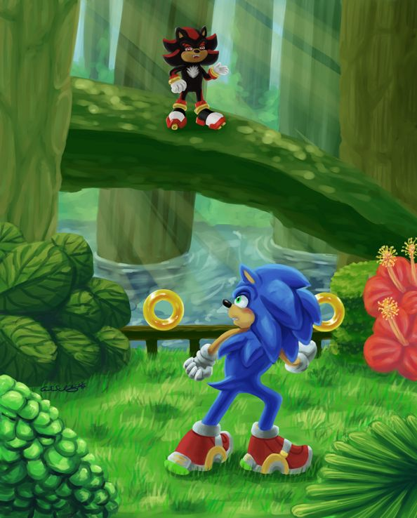 Sonic The Hedgehog: White Jungle Rival Fight