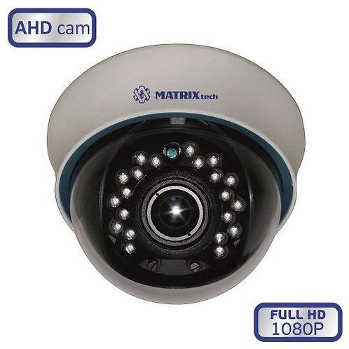 Купольная внутренняя камера MATRIX MT-DW1080AHD20V