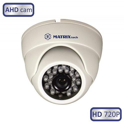 Купольная внутренняя камера MATRIX MT-DW720AHD20L