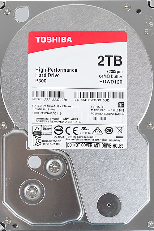 жесткий диск TOSHIBA P300 HDWD120UZSVA