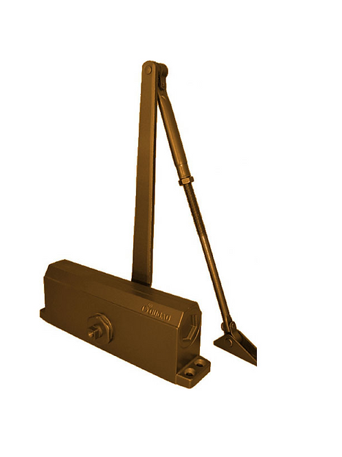 Доводчик дверной E-602 (бронза)