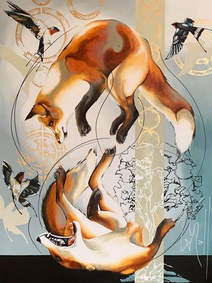 Les renards et les hirondelles