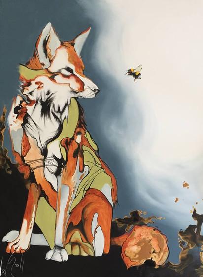 le renard et le bourdon vendu