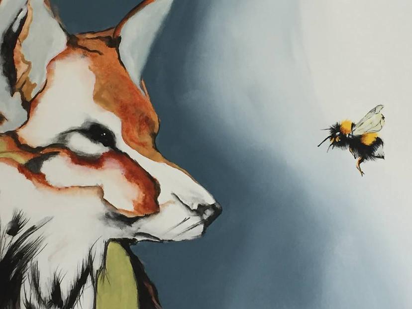 le renard et le bourdon détail vendu