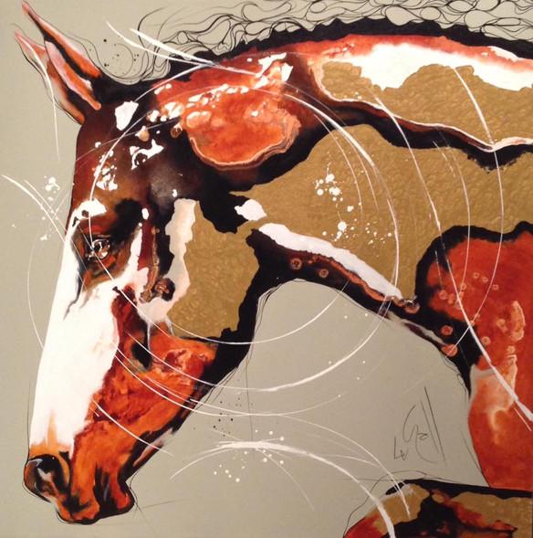 cheval vendu