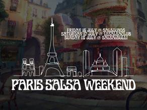 Paris Salsa Weekend 16th-18th July 2021