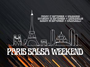 Paris Salsa Weekend 17th-19th September 2021