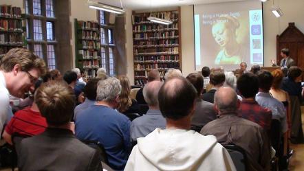 Mikolaj Slawkowski Rode speaks at the 2013 Humane Philosophy Conference