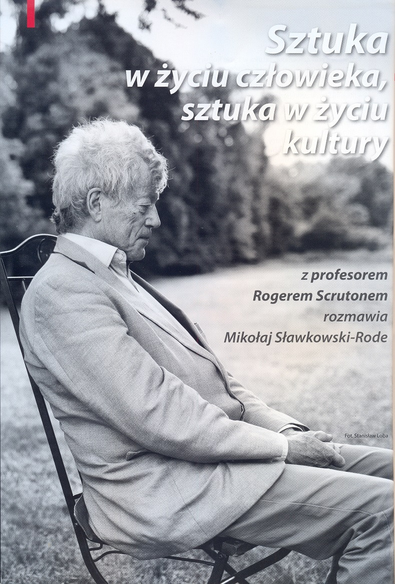 Cover page for the Polish Translation of this Interview in Arttak, Autumn 2014