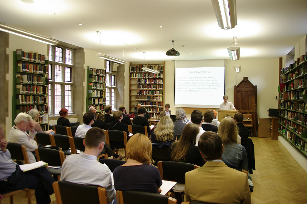 Louise Hanson and Audience at the 2014 HPP Conference