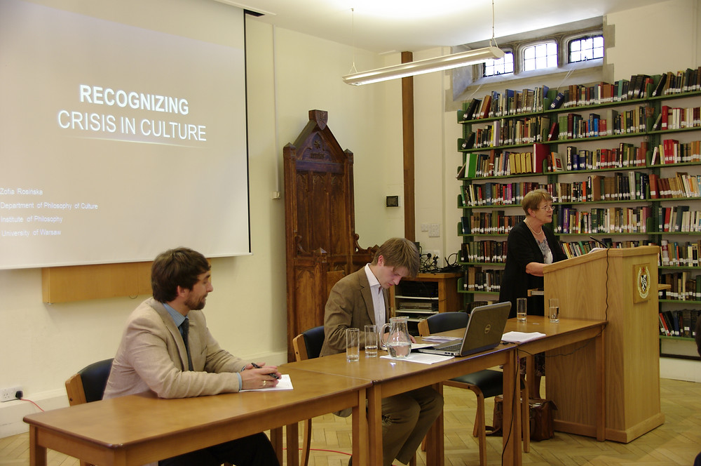 Mikolaj Slawkowski-Rode, Ralph Weir and Zofia Rosinska at the 2014 HPP Conference
