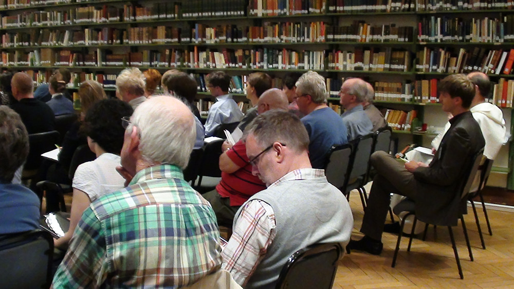 Ralph Weir and audience at the 2013 HPP Conference