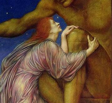 Evelyn De Morgan, The Worship of Mammon.png