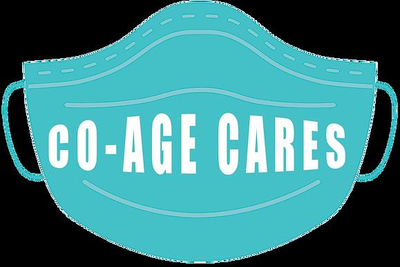 co-age cares mask transparent background