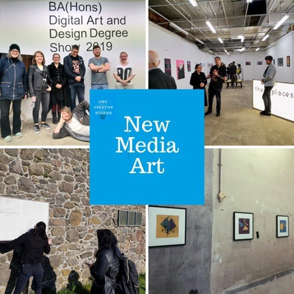 Discover UWS New Media Art