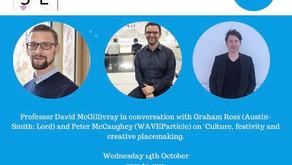 #CCSEConversations Professor David McGillivray, Graham Ross (Austin-Smith:Lord) and Peter McCaughey