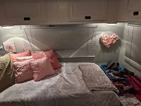 custom built-in bed