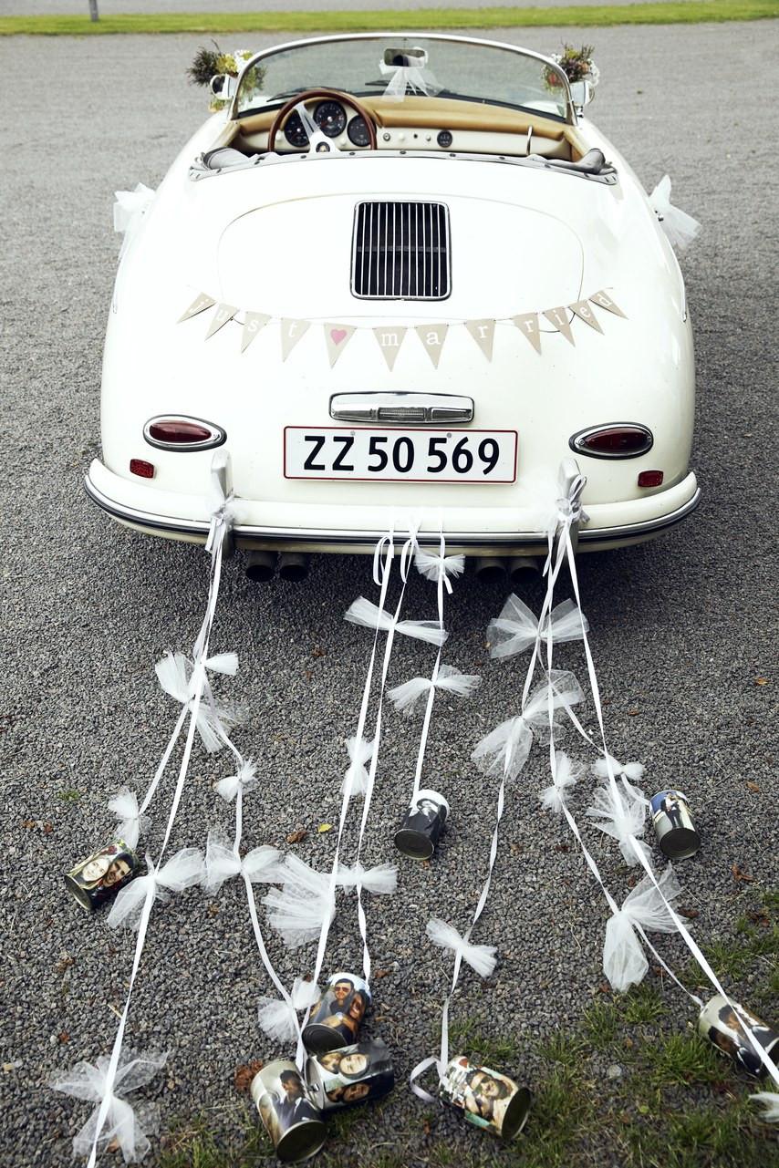 "Vintage Car for wedding tradition ""something old"""