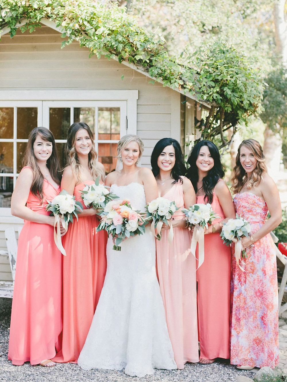 Pantone Color of the Year 2019 Bridesmaids Dresses