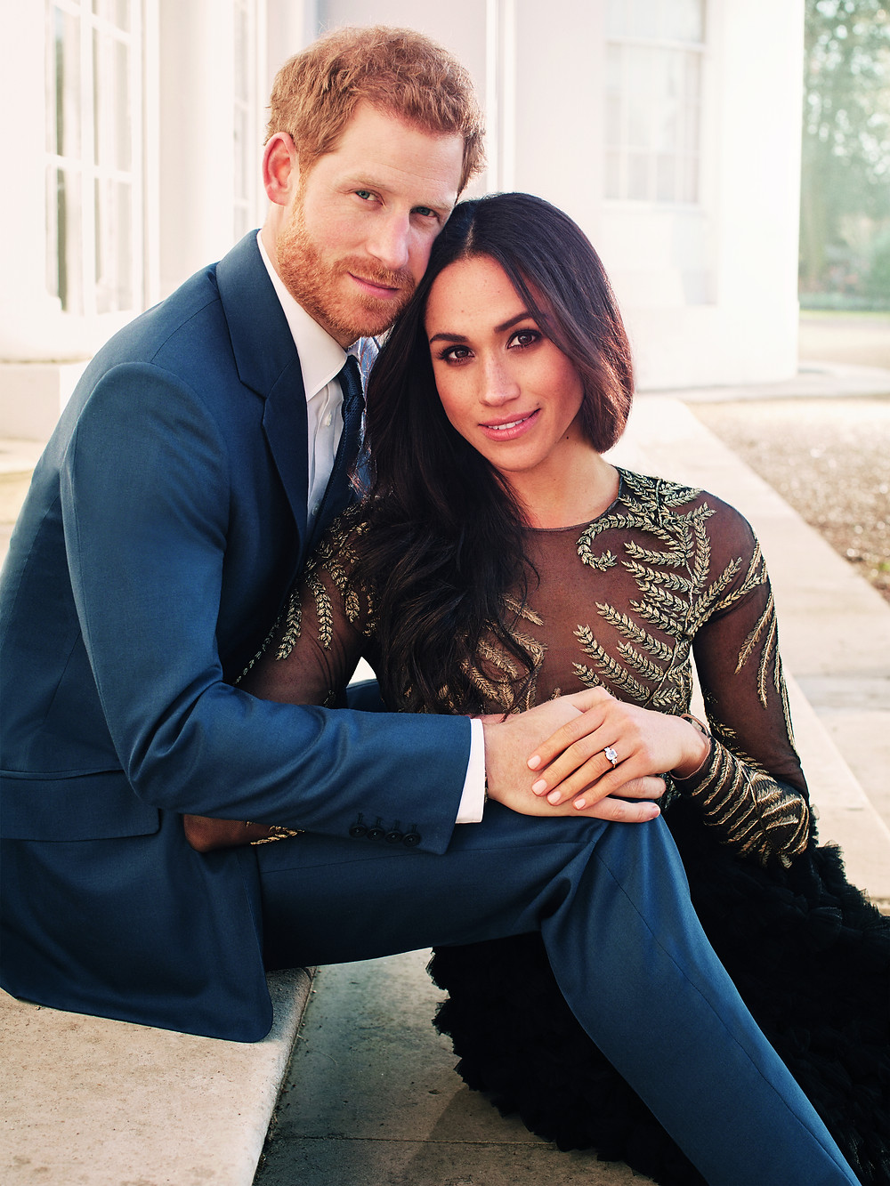 Prince Harry and Meghan Markle engagement photo formal