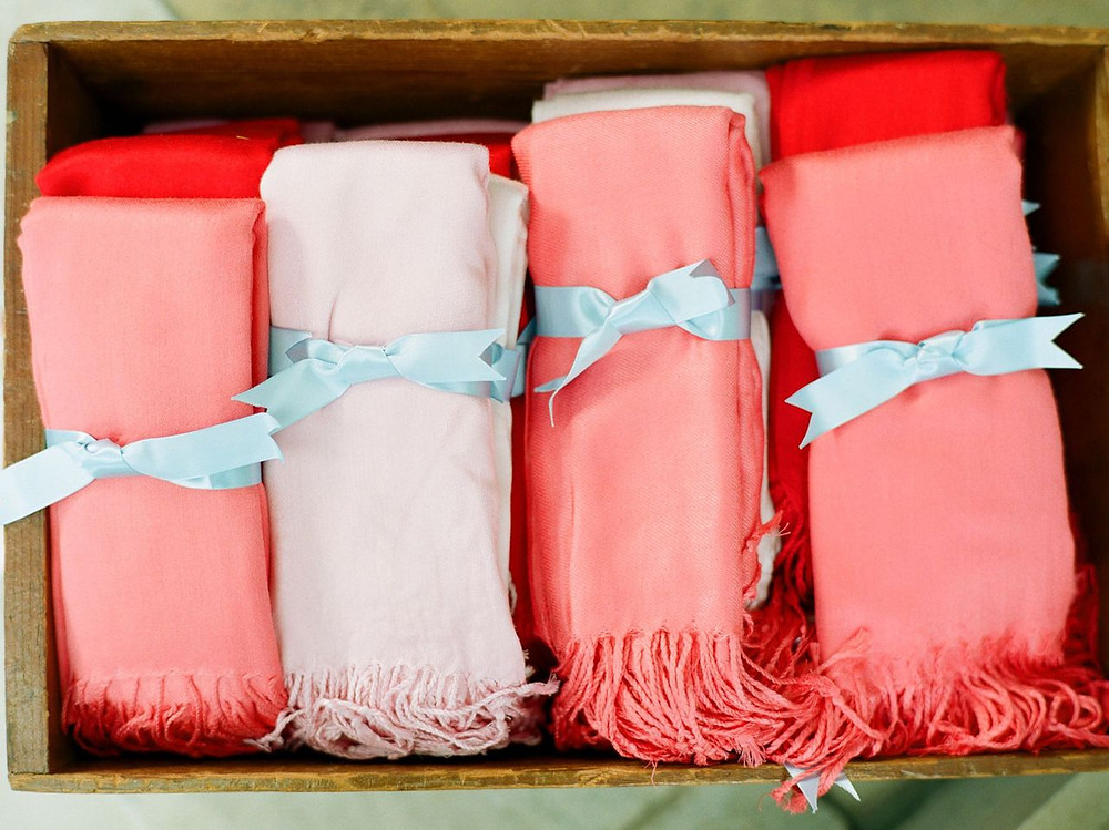 Pantone Color of the Year 2019 Living Coral Wedding Favors
