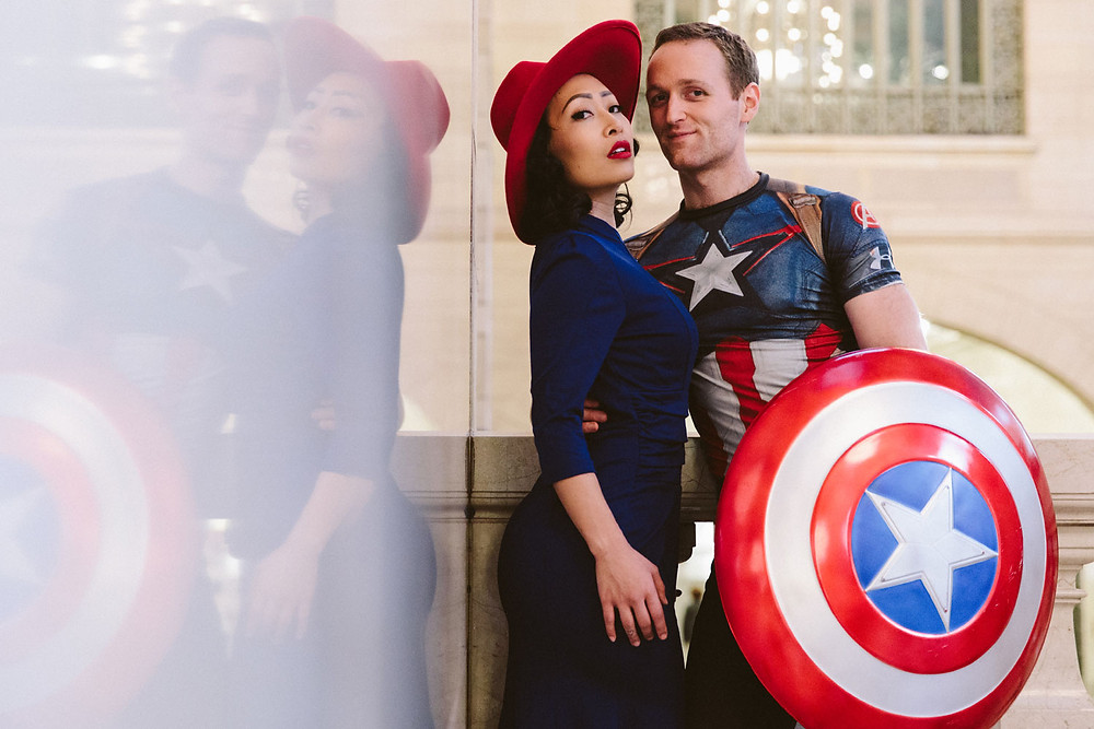 Iconic Duos engagement photos
