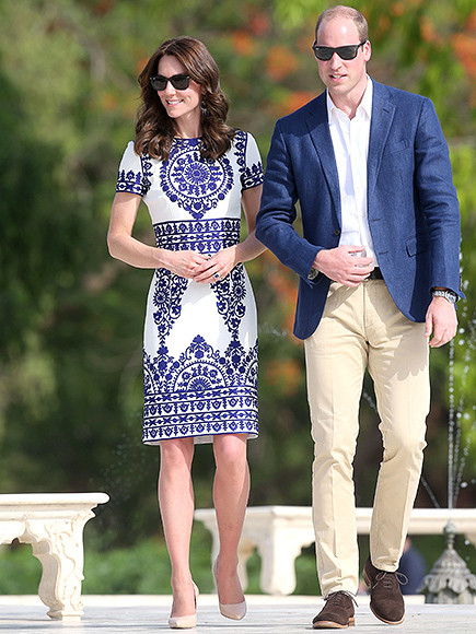 Prince William and Kate Middleton daytime/casual attire