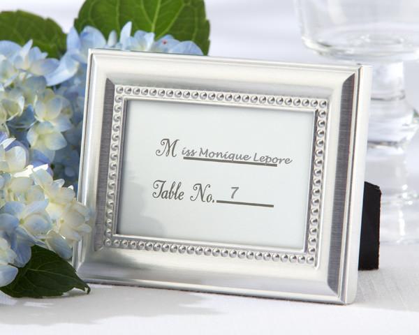 Picture frame wedding favor