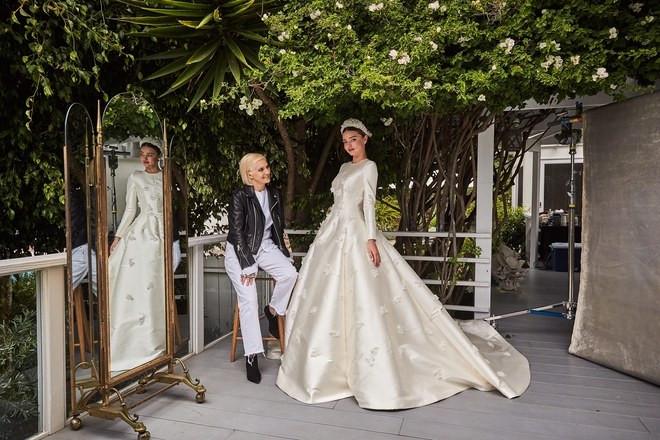 Miranda Kerr wedding dress to Snapchat CEO Evan Spiegel
