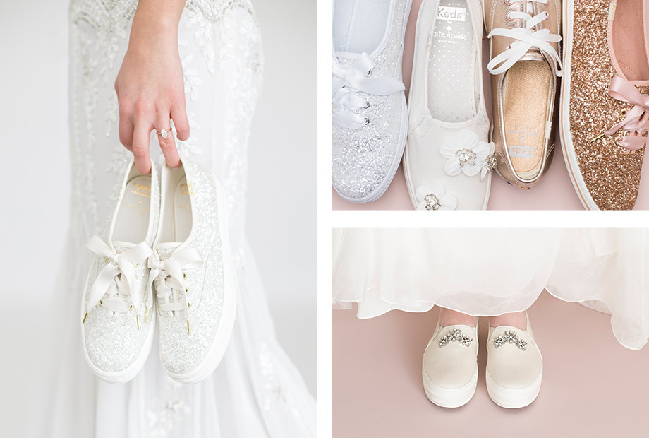 Keds x Kate Spade Wedding Sneaker Collection