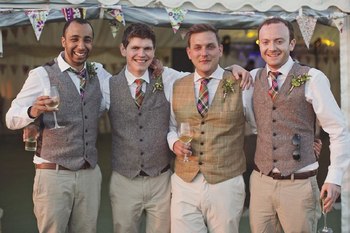 Vintage inspired wedding mens attire
