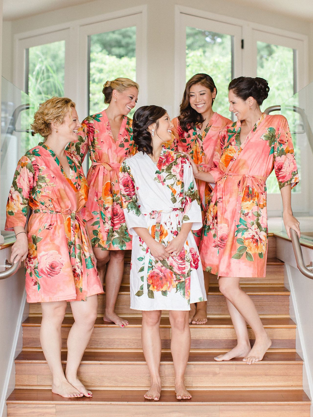 Pantone Color of the Year 2019 Bridesmaids Robes