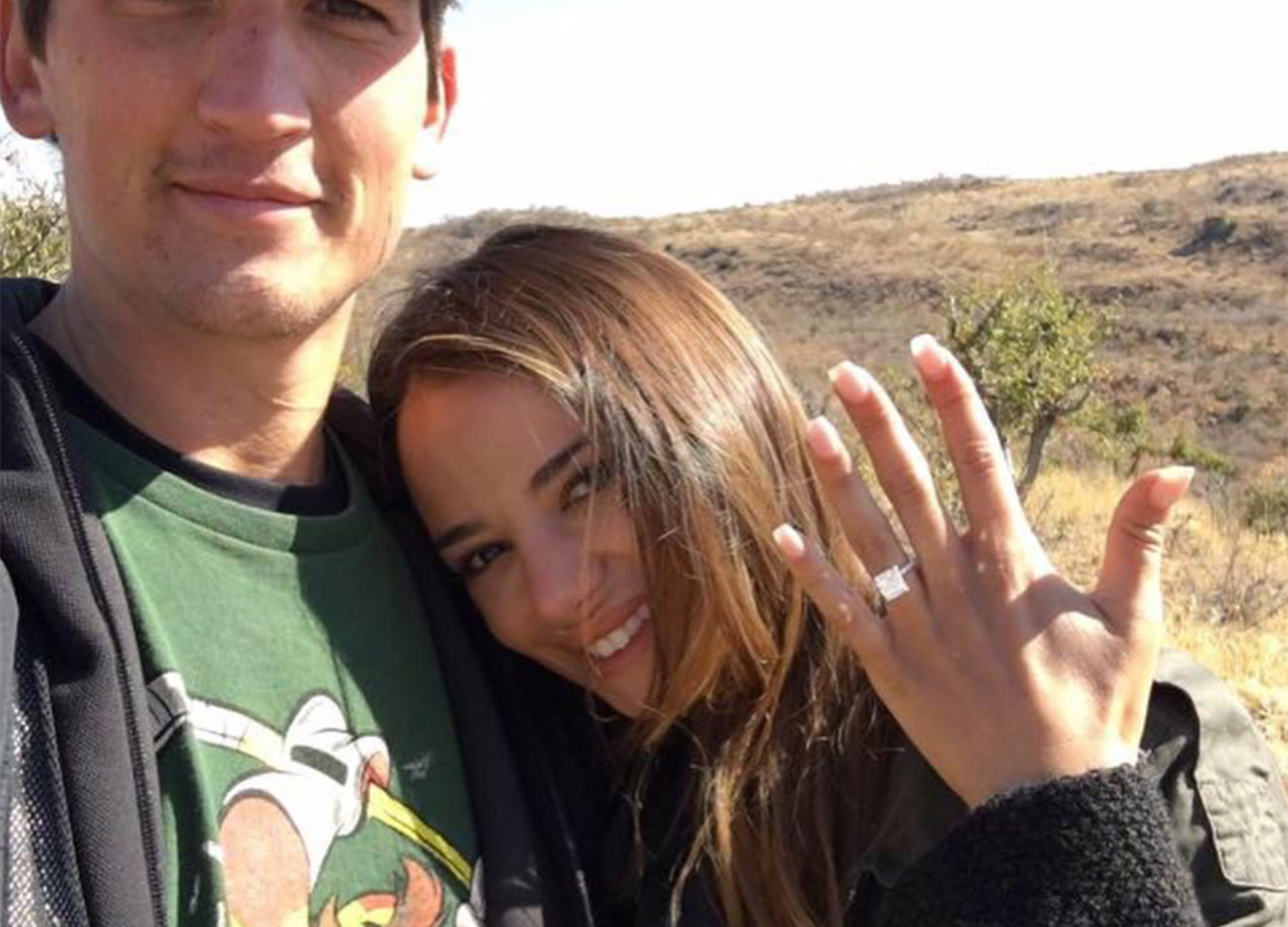 Miles Teller and Keleigh Sperry get engaged!