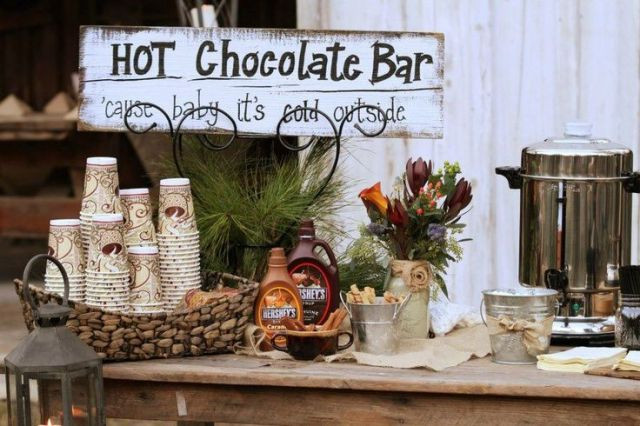 Wedding Hot Chocolate Bar