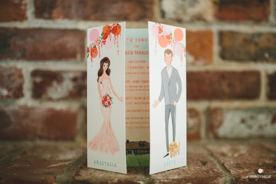 Pantone Color of the Year 2019 Wedding Stationery
