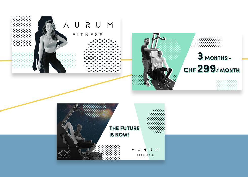 CLIENT: Aurum Fitness studio