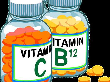 Maxdoser för vitaminer och mineraler i kosttillskott