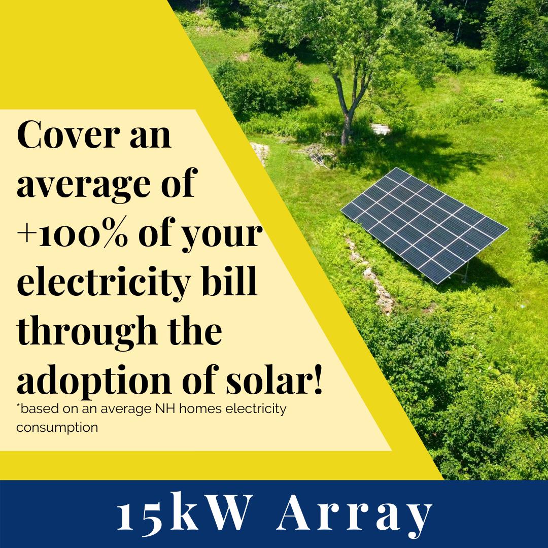 15kW Solar Array w/ SunFlower LLC