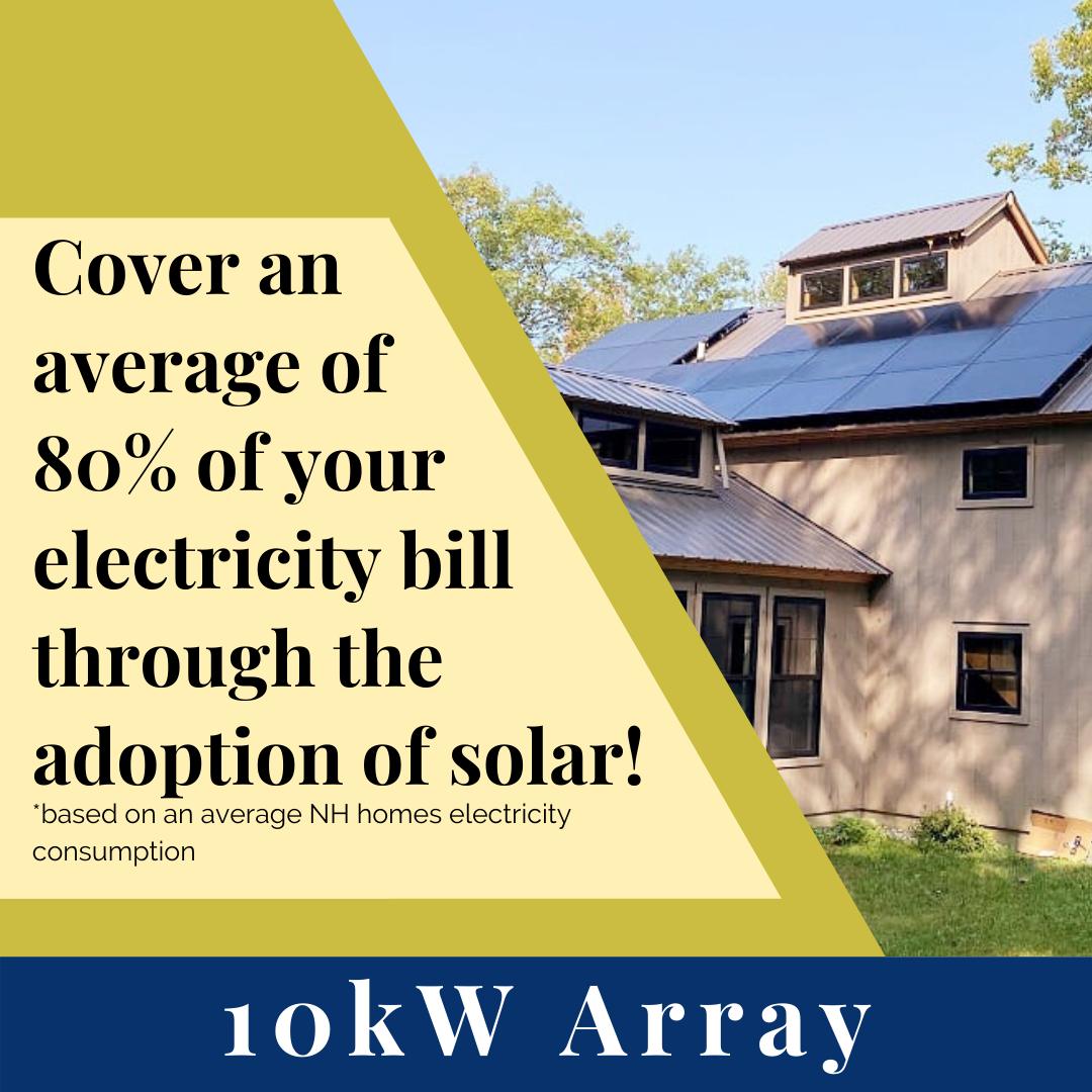 10kW Solar Array w/ SunFlower LLC