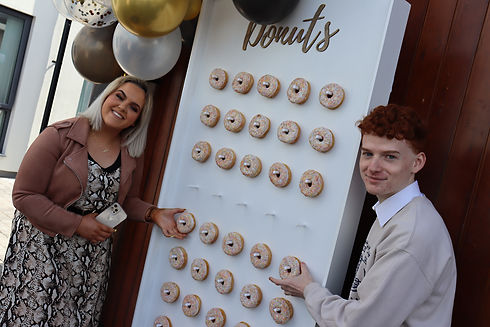 Our famous donut wall Hollie McMulkin Co