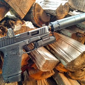 Glock 19 with Rugged Obsidian 9